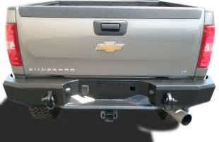 magnum heavy duty rear bumpers