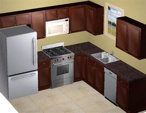 10x10 kitchen design 10 x 10 sle kitchen atlanta kitchen cabinet