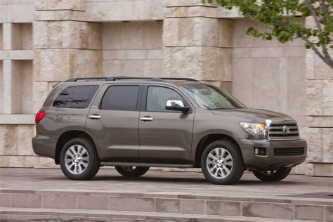 toyota sequoia safety review  crash test ratings  car connection