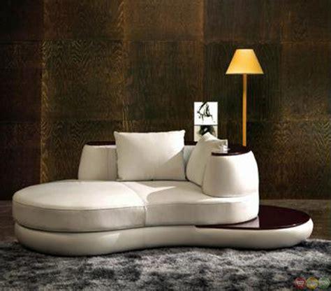 Modern White Leather Sofa Divani Casa Rodus Contemporary White Leather Sectional Sofa