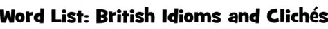 gravy boat idiom word list british idioms and clich 233 s sparklebox