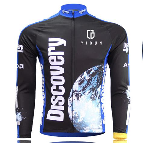 best road cycling jacket discovery long sleeve men s cycling jerseys mtb road