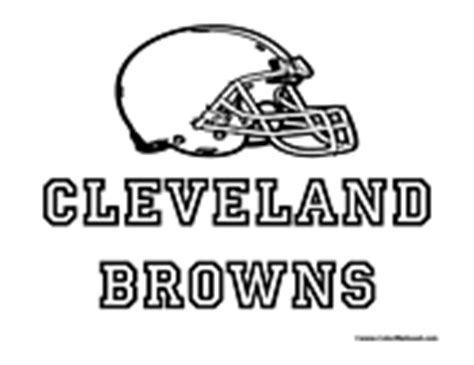 Cleveland Browns Coloring Pages nfl coloring pages