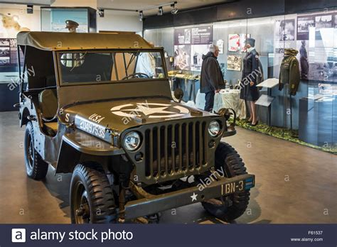 Jeep Museum Willys Jeep In The Utah Mus 233 E Du D 233 Barquement Ww2