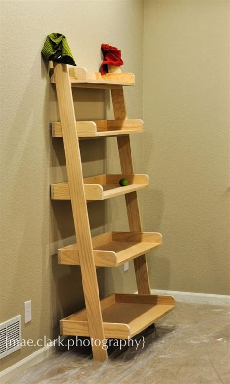 diy leaning bookshelves plans plans free