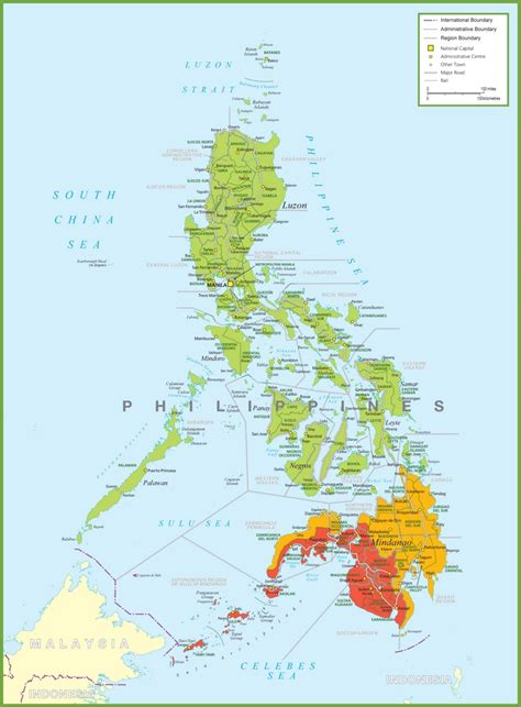 maps philippines large detailed map of philippines