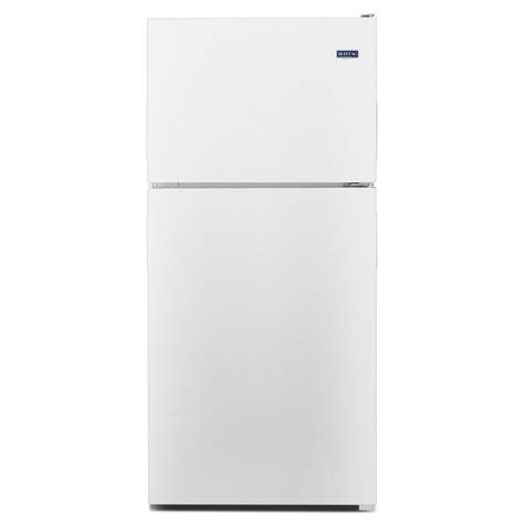 mrt118fzehmaytag 30 quot 18 cu ft top freezer refrigerator
