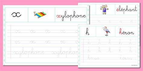 lettere corsive pdf fiche alphabet 224 imprimer minuscule cursive 224 renforcer