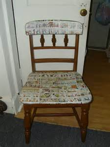 Decoupage A Chair - decoupage chair fabulous interiors llc