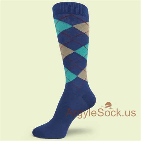lavender light gray purple groomsmen argyle socks for