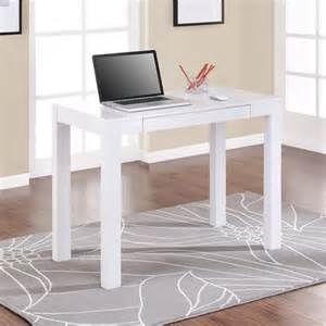 simple white desk grey area rug and simple solid white writing desk design