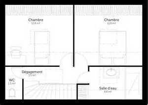 Garage Floor Plans With Apartment plan maison 224 233 tage avec 2 chambres ooreka