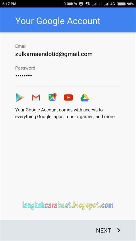 buat akun google   hp  nomor telepon langkah