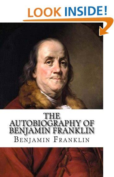 benjamin franklin biography for elementary students autobiography book amazon com