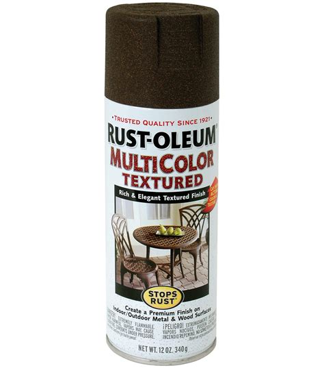 rust oleum stops rust multicolor aerosol paint 12oz jo