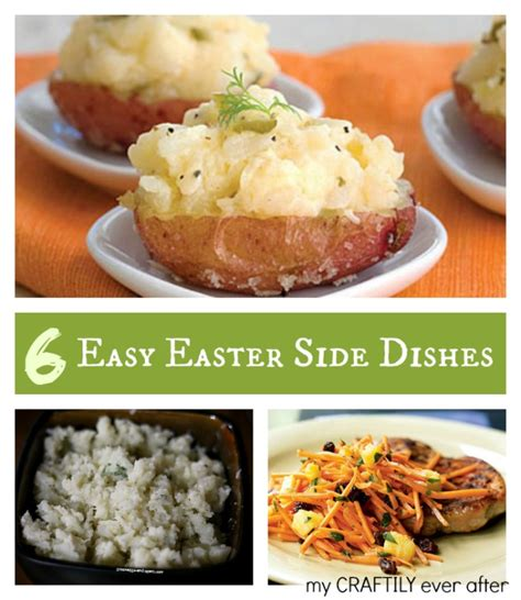easter side dishes 6 easy easter side dishes my craftily ever after
