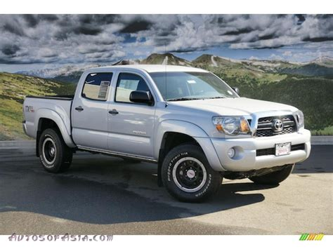 toyota tacoma silver 2011 toyota tacoma tx double cab 4x4 in silver streak mica