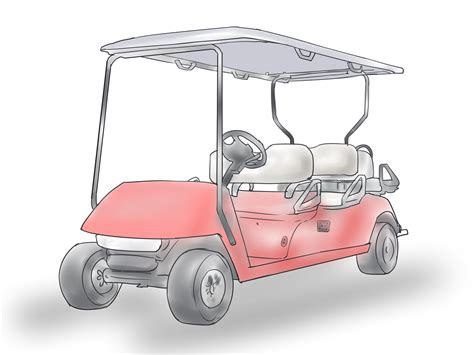 paint  golf cart  steps  pictures wikihow