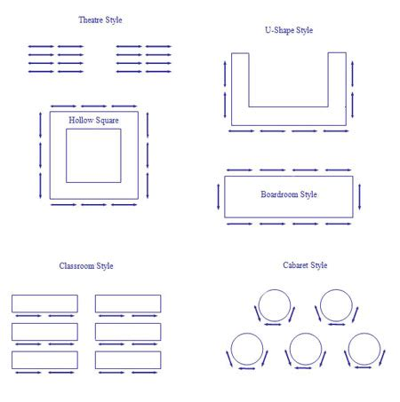 event layout styles conf room layout jpg 450 215 453 event venue pinterest
