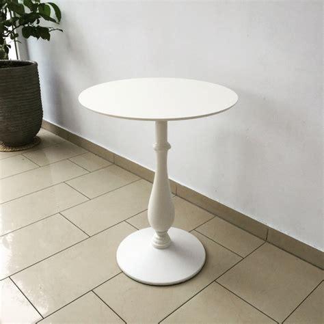 Weisser Tisch Rund by Barocktisch Wei 223 Tisch Rund Wei 223 Bistrotisch Rund Wei 223