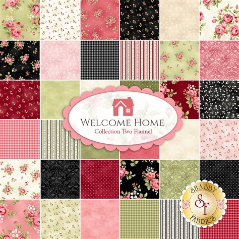 the shabby a quilting blog by shabby fabrics welcome home flannel collection revealed