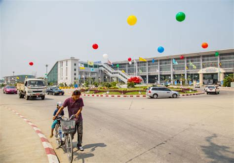 airasia group moves to terminal 1 in yangon myanmar the first phase of a new airport terminal in yangon opens