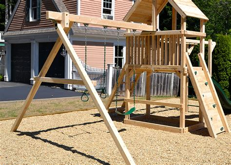 swing features swing sets features play benefits triumph play systems