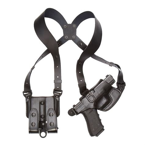 comfortable shoulder holster 101 comfort flex shoulder holster off duty aker leather
