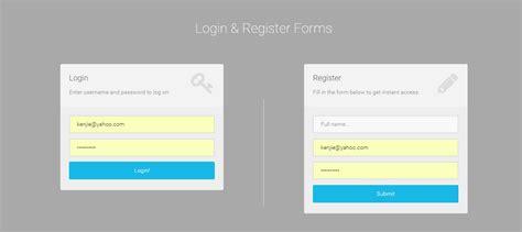 tutorial php login registration login user and user registration in php