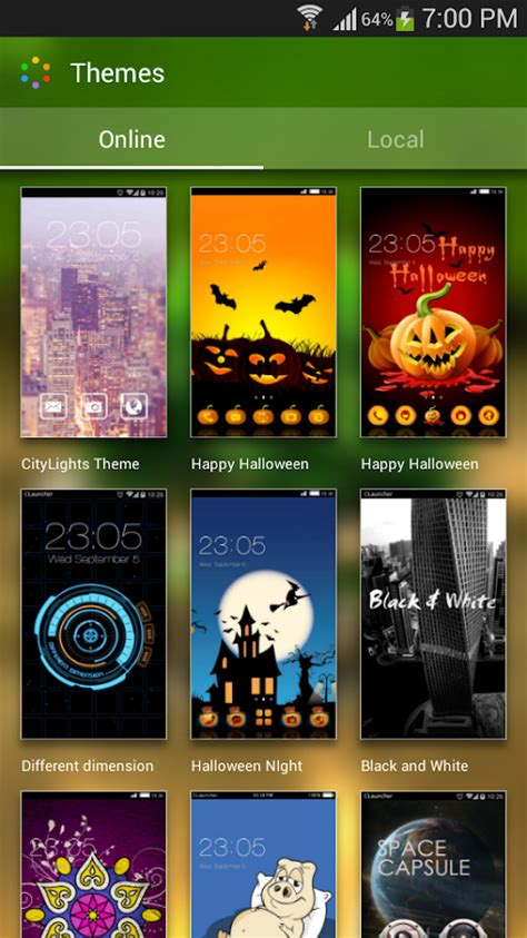 nature themes download for android green nature hd theme comic android themes free android