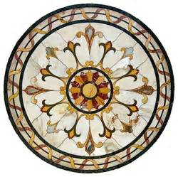 gallucci bianca carrara marble medallion traditional living room toronto by marvelous