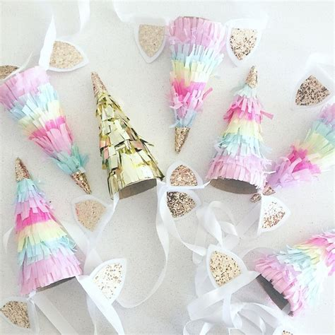 pattern party ideas image of unicorn horn party hat kiddo birthday parties