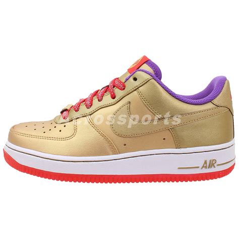 Shoes Sport Nike Air One Putih Gold Casual Cewek nike air 1 gs gold year of the boys