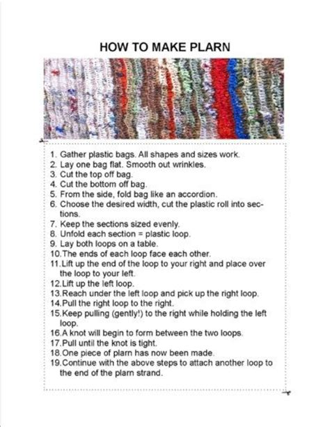 How To Make A Doormat Out Of Plastic Bags by How To Make Plarn Tutorial Recycle Plastic Bags Into