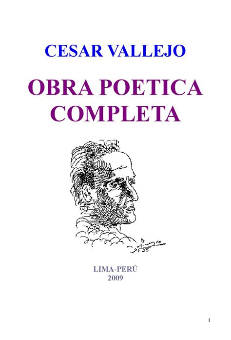 obra potica completa issuu cesar vallejo obra poetica completa by ra 250 l prada alcoreza
