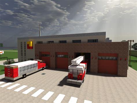 minecraft fire minecraft fire station by yazur deviantart com on
