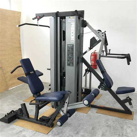 precor s3 45 3 stack multi station used fitnessfocuz