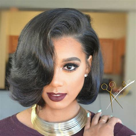 bob with hair bonding in the front hairstyle of the week bobs parts kamdora