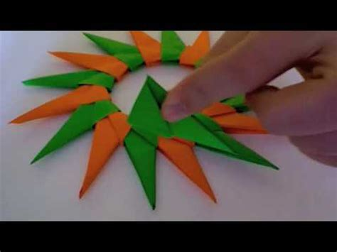 How To Make An Origami 16 Pointed - origami school 16 pointed