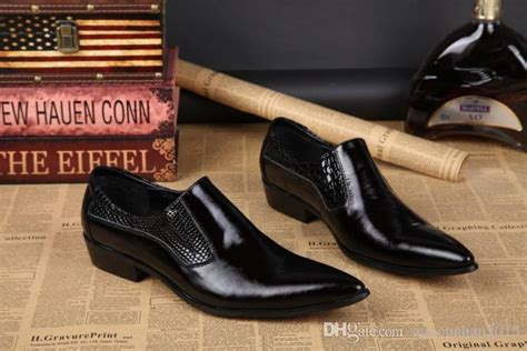 Sepatu Dress Shoes Pria Oxford Black High Quality Pointed Toe Leather Dress Shoes Black
