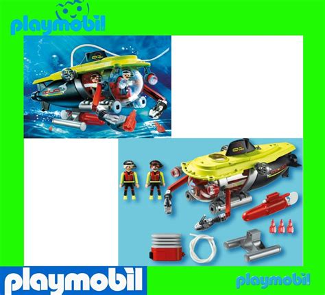 playmobil underwater motor 7350 playmobil 4909 submarine sea diving submersible w