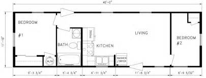 Floor Plans For Trailer Homes by 2 Bedroom Mobile Home Plans Submited Images