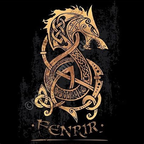 collection of 25 fenrir tattoo
