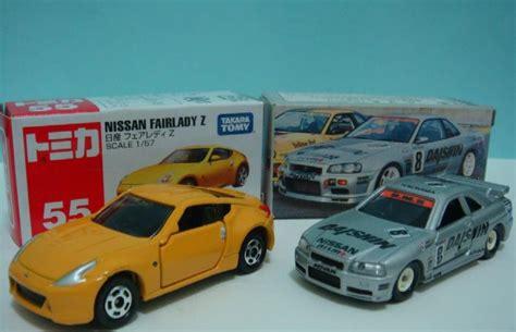 Tomica No 8 Nissan Skyline go go tomica tomica vs hotwheels nissan 370z gtr r34