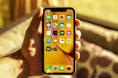apple iphone xr review gsmarena tests