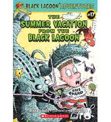 book report from the black lagoon black lagoon adventures summer vacation from the black