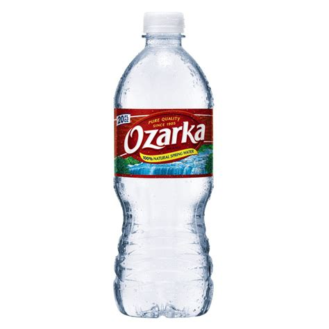 How To Decorate A Home With No Money by Shop Ozarka 20 Fl Oz Spring Water At Lowes Com