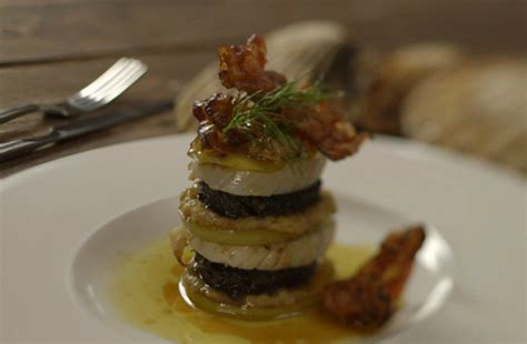 james martin home comforts recipe james martin scallops with black pudding and ginger