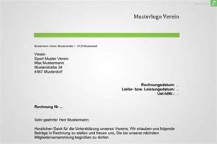 Musterrechnung Privatperson Musterrechnung Verein Gratis Downloaden Everbill Magazin