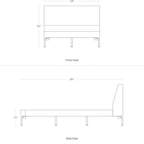 standard twin bed dimensions new standard twin bed upholstered bed frame blu dot